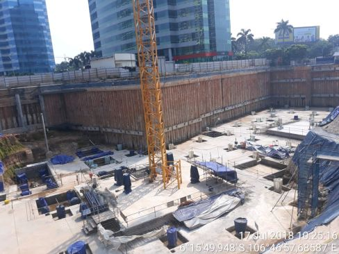 On Going Project Pondok Indah Mall 3 & 2 Office Towers 10 pim9