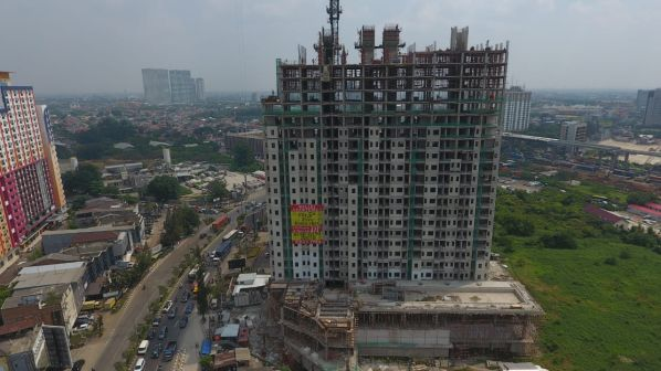 On Going Project TThamrin Disctric Apartment – Bekasi 12 tda10