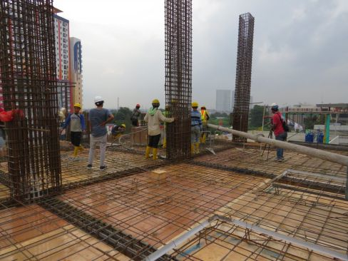 On Going Project TThamrin Disctric Apartment – Bekasi 4 tda2